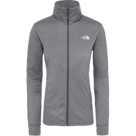 The North Face Quest Couche intermédiaire zip complet Femme, vanadis grey white heather